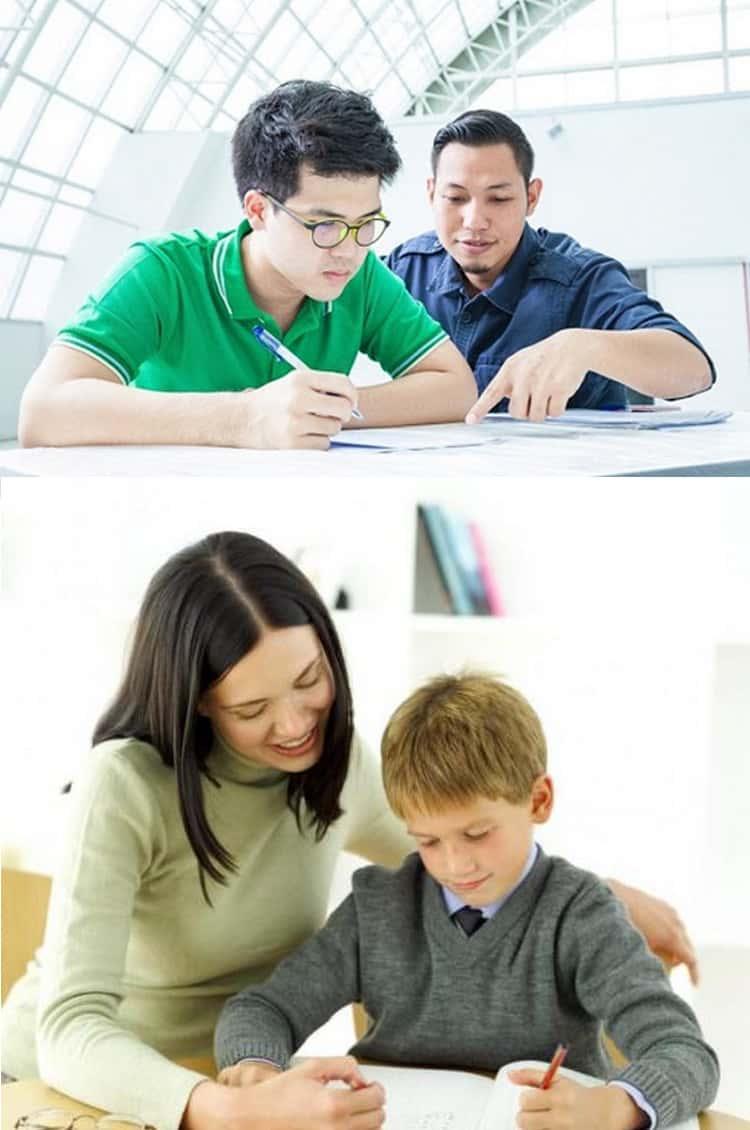 dạy kèm cấp 2 tại nhà